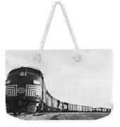 Historic Freight Train Weekender Tote Bag