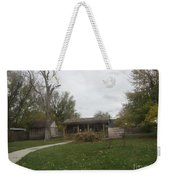 Historic Mormon Cabin Weekender Tote Bag