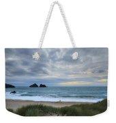 Holywell Bay Sunset Weekender Tote Bag