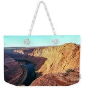 Horseshoe Bend Colorado River Arizona Usa Weekender Tote Bag