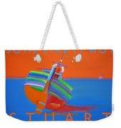 Hot Boat Weekender Tote Bag