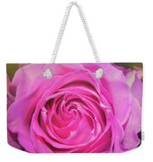 Hot Pink Weekender Tote Bag by JAMART Photography