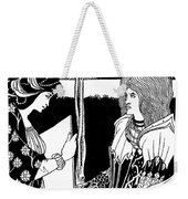 How Morgan Le Fay Gave A Shield To Sir Tristran Weekender Tote Bag