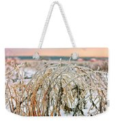 Ice On Branches Weekender Tote Bag