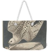 Iceland Or Jer Falcon Weekender Tote Bag