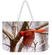 Img_0001 - Northern Cardinal Weekender Tote Bag