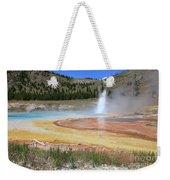 Imperial Geyser, Yellowstone Np Weekender Tote Bag