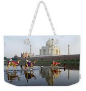 India's Taj Mahal Weekender Tote Bag