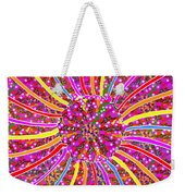Infinity Star Flower An Abstract Fineart Expression By Navinjoshi At Fineartamerica.com Colorful Spe Weekender Tote Bag