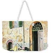 Italian Alley Weekender Tote Bag
