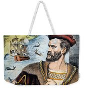 Jacques Cartier (1491-1557) Weekender Tote Bag