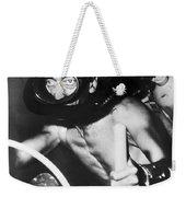 Jacques Cousteau (1910-1997) Weekender Tote Bag