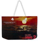 Jaws 2 1978  Weekender Tote Bag