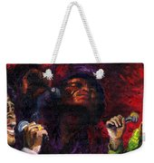 Jazz James Brown Weekender Tote Bag