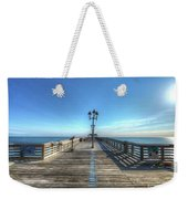 Jennettes Pier Nags Head North Carolina Weekender Tote Bag