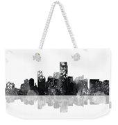 Jersey City New Jersey Skyline Weekender Tote Bag