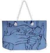 Jesus King Of  Africa Weekender Tote Bag