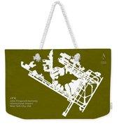 Jfk John Fitzgerald Kennedy International Airport In New York Ci Weekender Tote Bag