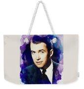 Jimmy Stewart, Vintage Movie Star Weekender Tote Bag