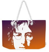 John Lennon The Legend Weekender Tote Bag