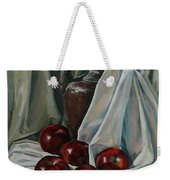 Jug With Apples Weekender Tote Bag