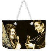 June Carter And Johnny Cash Collection Weekender Tote Bag
