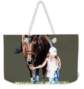 Just A Girl And Her Horse  Weekender Tote Bag
