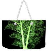 Kale, Brassica Oleracea, X-ray Weekender Tote Bag