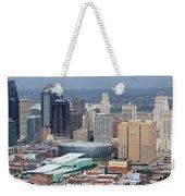 Kansas City Skyline Panorama Weekender Tote Bag