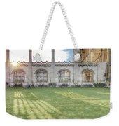 King's College Cambridge Weekender Tote Bag
