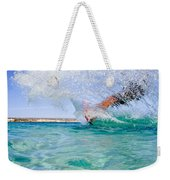 Kitesurfing Weekender Tote Bag by Stelios Kleanthous
