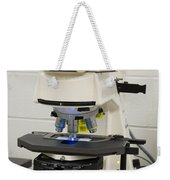 Laboratory Fluorescent Microscope Weekender Tote Bag