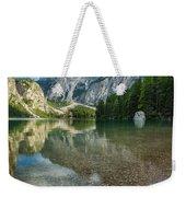 Lago Di Braies Weekender Tote Bag