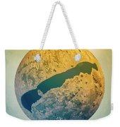 Lake Balaton 3d Little Planet 360-degree Sphere Panorama Weekender Tote Bag