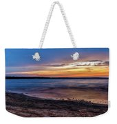 Lake Sunset Weekender Tote Bag