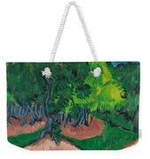 Landscape With Chestnut Tree Weekender Tote Bag