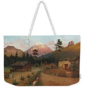 Landscape With Volcano Weekender Tote Bag