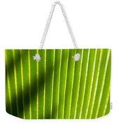 Leaf Close-up Weekender Tote Bag