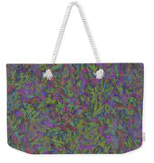 Leaves In Abstract  Weekender Tote Bag