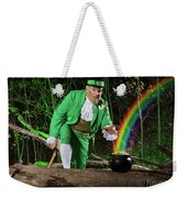 Leprechaun With Pot Of Gold Weekender Tote Bag
