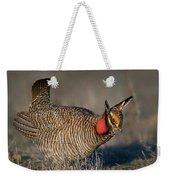 Lesser Prairie Chicken Weekender Tote Bag