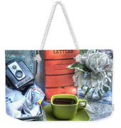 Letters From Home Weekender Tote Bag