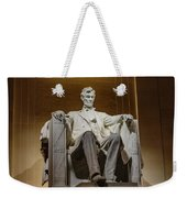 Lincoln Statue Weekender Tote Bag