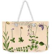 Linnaea Borealis, Linnaeuss Favorite Weekender Tote Bag