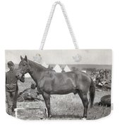 Little Bighorn, 1876 Weekender Tote Bag