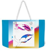 2 Little Fish Weekender Tote Bag