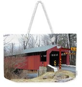 Little Gap Covered Bridge Weekender Tote Bag