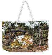 Little Pravcice Gate - Famous Natural Sandstone Arch Weekender Tote Bag