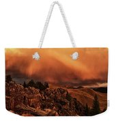 Lost River Sunset Weekender Tote Bag