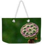 Lotus Seeds Weekender Tote Bag